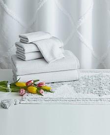 Peri Home Chenille Lattice 8-Pc. Bath Kit