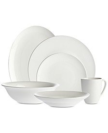 Bradford 34-Pc. Dinnerware Set, Service for 8