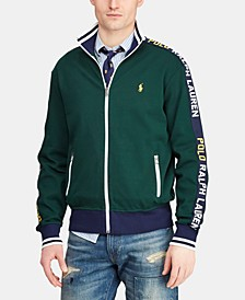 Men's Logo Graphic Track Jacket