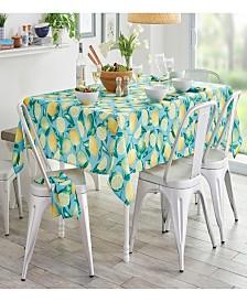 Elrene Lemon Grove Indoor/Outdoor Table Linens Collection