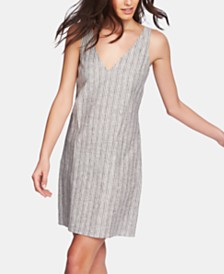 1.STATE Striped Tie-Back Dress