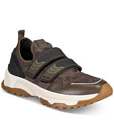 COACH Men's Two Strap Runner Sneakers