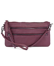 T Tahari Sienna Zippered Crossbody