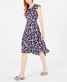 Floral-Print High-Low Dress, Created for Macy's