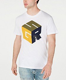 Men's Cube Logo T-Shirt, Created for Macy's