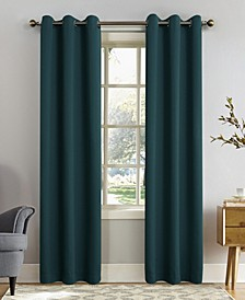 "Preston 40"" x 84"" Grommet Top Blackout Curtain Panel"