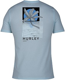 Hurley Men's Red Tide Graphic T-Shirt