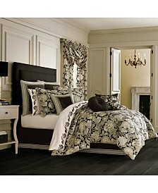 J Queen Midnight Mist Black California King Comforter Set