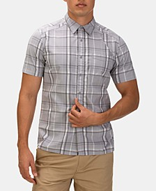 Men's Frankie Plaid Stretch Button-Down Shirt