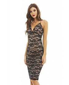 AX Paris Lace Strappy Bodycon/Dress