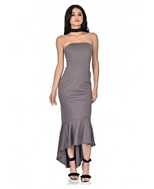AX Paris Strapless Fishtail Dress
