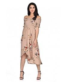 AX Paris Floral Bardot Printed Dress