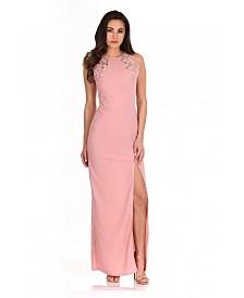 AX Paris Lace Detail Maxi Dress