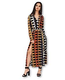 AX Paris Aztec Printed Shirt Dress