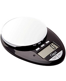 Pro II Kitchen Scale and Countdown Kitchen Timer, with Removable Glass