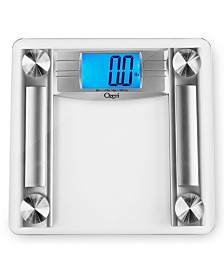 Ozeri ProMax 560 lbs Bath Scale with 0.1 lbs Sensors, Body Tape and Fat Calipers