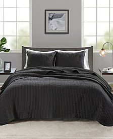 Keaton 3-Pc. Reversible Quilted King/California King Coverlet Set