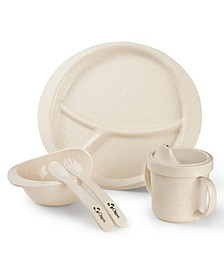 Earth Dish Set For Kids, 100% Made from a Plant