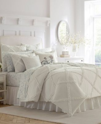 Adelina White Duvet Set, King