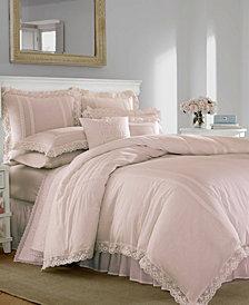 Laura Ashley Annabella Pastel Pink Duvet Set, King