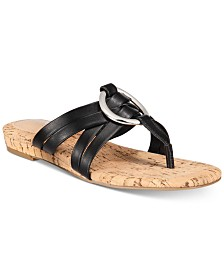 Alfani Women's Carrle Flat Sandals, Created for Macy's