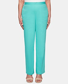 Petite Coastal Drive Pull-On Pants