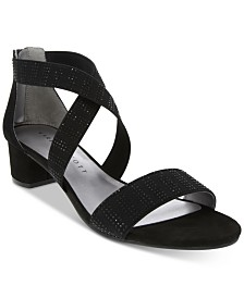 Karen Scott Gracee Block Heel Sandals, Created for Macys