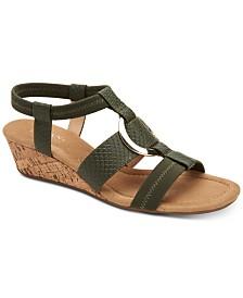 Alfani Women's Vennice Wedge Sandals, Created for Macy's