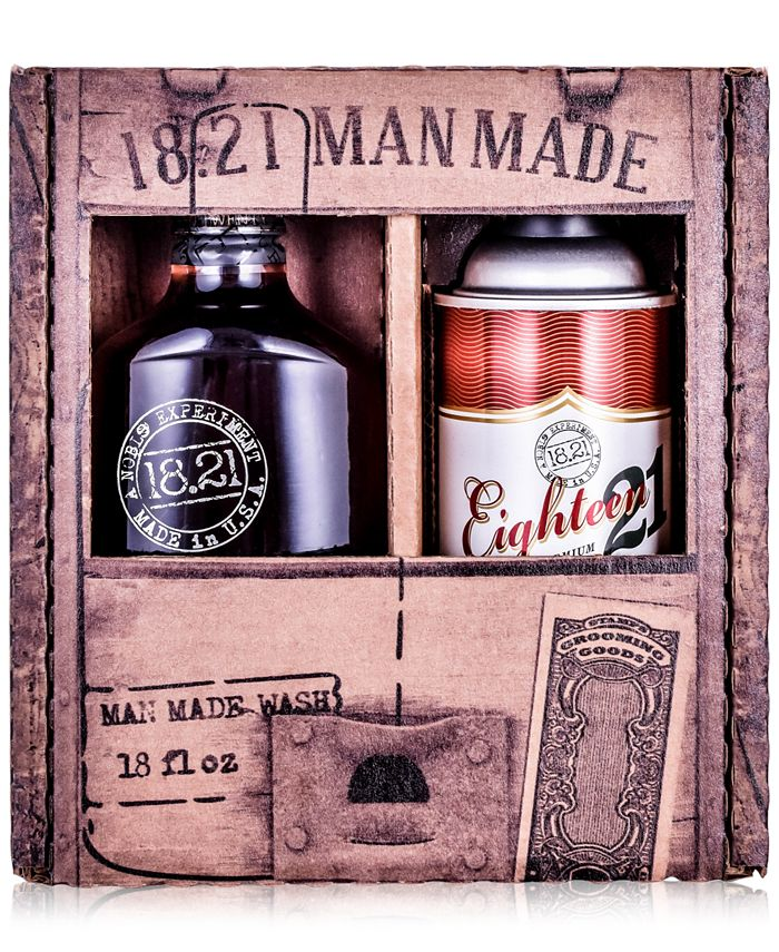 18.21 Man Made - 2-Pc. Wash & Hair Spray Gift Set