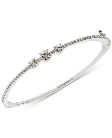 Givenchy Crystal & Pavé Bangle Bracelet