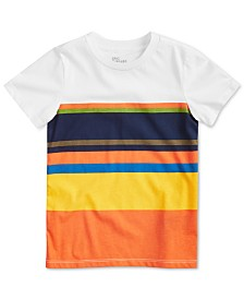 Epic Threads Toddler Boys Colorblocked Stripe T-Shirt, Created for Macy's