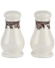 Spode Delamere Salt & Pepper Shakers, Set of 2