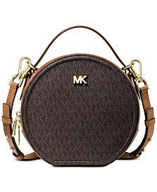 MICHAEL Michael Kors Delaney Signature Canteen Crossbody