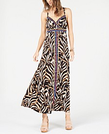 INC Petite Strappy-Back Maxi Dress, Created for Macy's
