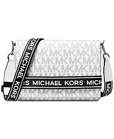MICHAEL Michael Kors Bellamie Logo Crossbody Clutch