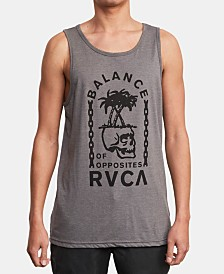 RVCA Men's Bad Palms Graphic Tank Top