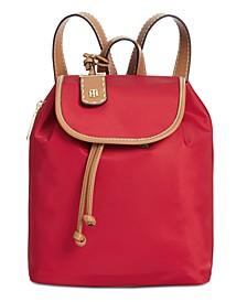 Julia Nylon Drawstring Backpack
