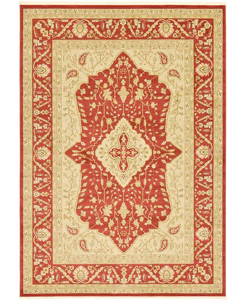 Bridgeport Home Orwyn Orw7 Red 8' x 11' Area Rug