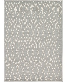 Bridgeport Home Fio Fio1 Gray 9' x 12' Area Rug