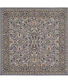 Arnav Arn1 Gray 8' x 8' Square Area Rug
