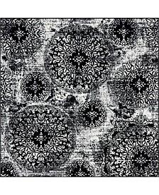 Basha Bas7 6' x 6' Square Area Rug