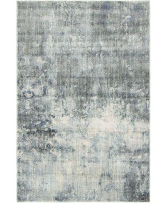 Haven Hav1 Gray 4' x 6' Area Rug
