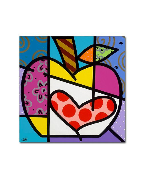 "Trademark Global Roberto Rafael 'Big Apple III' Canvas Art - 18"" x 18"""