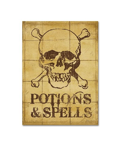 "Trademark Global Stephanie Marrott 'Potions & Spells' Canvas Art - 18"" x 24"""