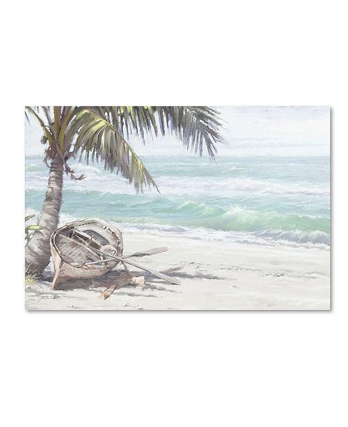 "Trademark Global The Macneil Studio 'Boat on Beach' Canvas Art - 16"" x 24"""