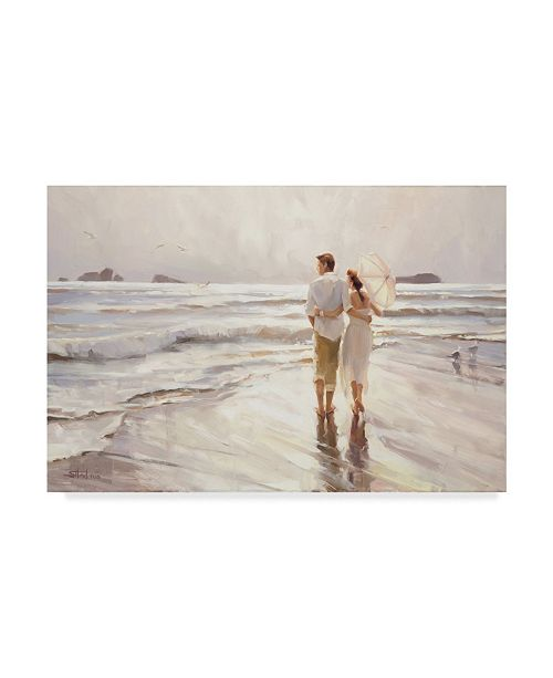 "Trademark Global Steve Henderson 'The Way It Should Be' Canvas Art - 16"" x 24"""
