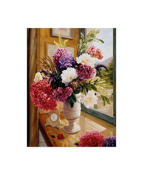 "Trademark Global Robin Anderson 'Chez Moi' Canvas Art - 18"" x 24"""