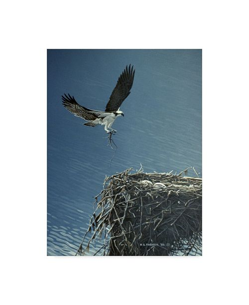 """Trademark Global Ron Parker 'Above The Lake' Canvas Art - 18"""" x 24"""""""