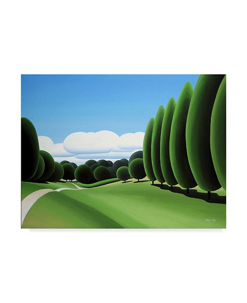 "Trademark Global Ron Parker 'Poplars' Canvas Art - 18"" x 24"""