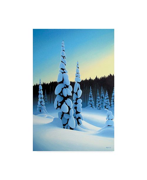"""Trademark Global Ron Parker 'Just Before Dawn' Canvas Art - 16"""" x 24"""""""